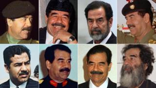 Saddam Hussein composite image