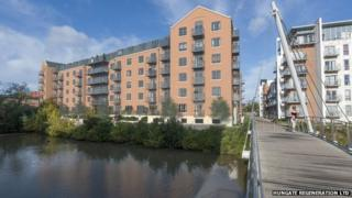 An impression of the new Hungate development