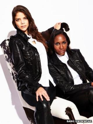 Bang's Nell Robinson (l) and Ann Marie Clarke (r)