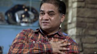 File photo: Ilham Tohti, 4 February 2013