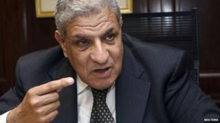 File photo of Ibrahim Mahlab (1 July 2010)