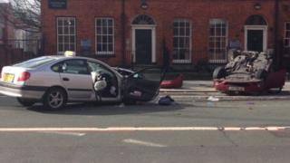 Manchester crash