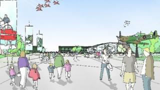 Artist's impression of the heritage centre
