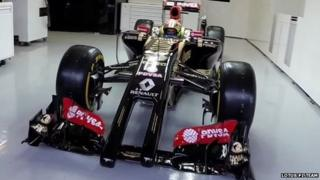 2014 Lotus F1 Team car