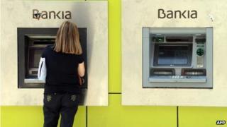 Bankia cash-point