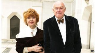 Prunella Scales and Tim West