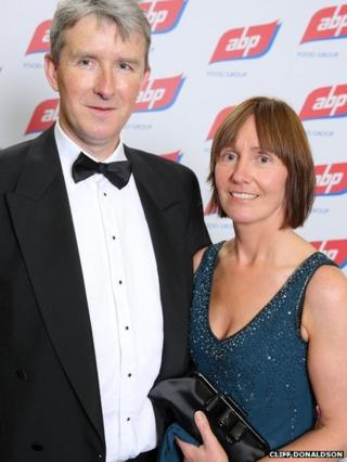Seamus and Pauline Kenny