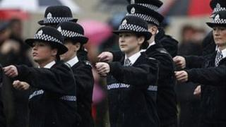 Police passing out parade