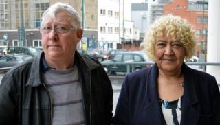 Laurence Hoggart and Marlene Starling