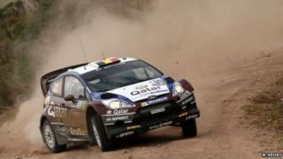 M-Sport's Fiesta R5 WRC car
