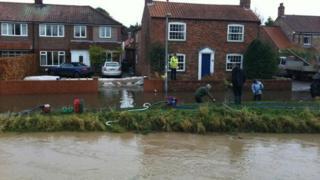 Generic flooding in Wilberfoss