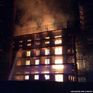Burscough Mill fire