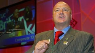 File photo dated 10/09/03 of Rail, Maritime and Transport union leader Bob Crow