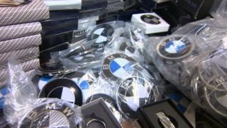 Counterfeit BMW accessories
