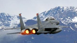 F-15E Strike Eagle jet
