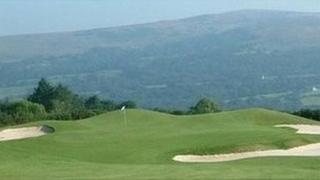 Clwb golff Garnant