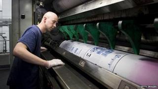Trinity Mirror printing press