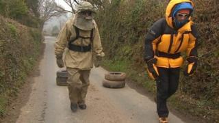Turner twins training for polar trek