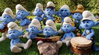 A scene from The Smurfs 2