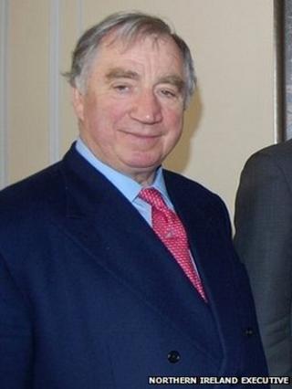 Lord Ballyedmond in 2010