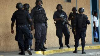 Police in Jamaica (May 2010)