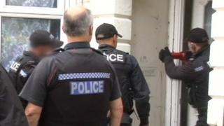 Operation Fortress police raid