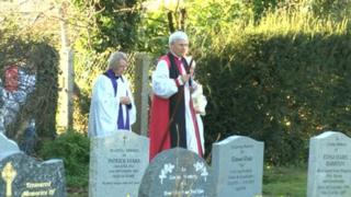 Rededication service at All Saints' churchyard in Didcot