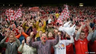 Aberdeen fans