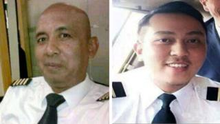 Captain Zaharie Ahmad Shah and his co-pilot Fariq Abdul Hamid