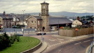 old waterside railway station