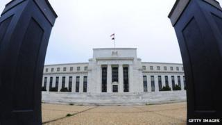 Exterior of US federal reserve