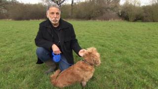 Philip Morris and his dog Bella