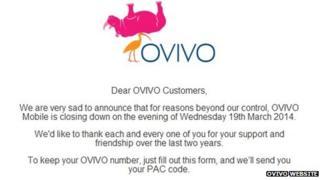 Ovivo website