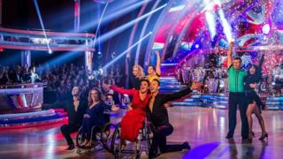 Sport Relief does Strictly