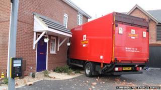 Royal Mail lorry, Gosport