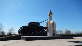 War memorial in Tiraspol,