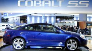 Chevrolet Cobalt on display