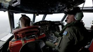 Australian team search for the missing plane MH370