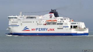 MyFerryLink ship