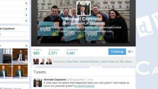 Michael Copeland's Twitter account