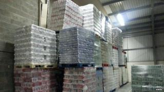 Alcohol seized in Cardiff