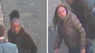 CCTV Pictures of two women