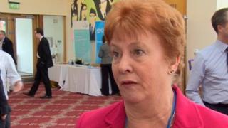 Geraldine Rice said she did not share Anna Lo's view