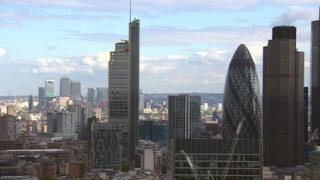 London financial area