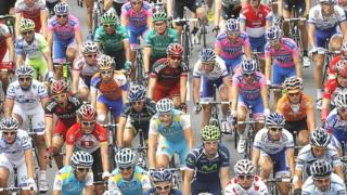 Tour de France cyclists