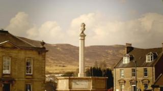 The Portree war memorial contains 104 names