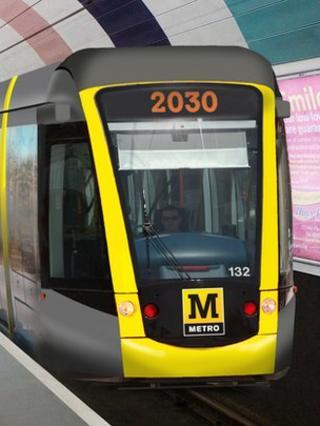 New model Metro train