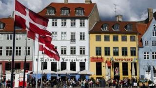 Street scene in Copenhagen