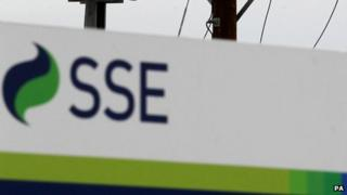 SSE power lines