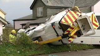 Holsworthy crash, 25 March 2014